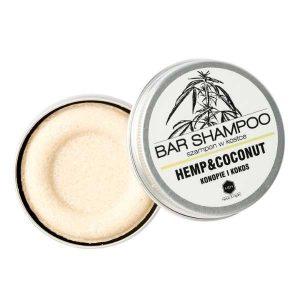 kokosowy szampon w kostce