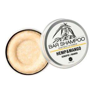 konopny szampon w kostce mango