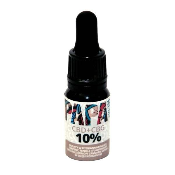olejek papaweed polskiej produkcji o wysokiej zawartości cbd i cbg, ktore działają synergicznie i wspierają swoje działanie