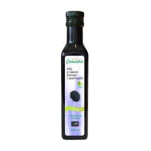 olej konopny z czarnuszką