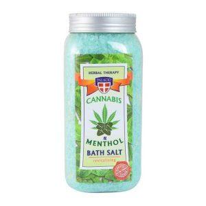 konopna sól do kąpieli