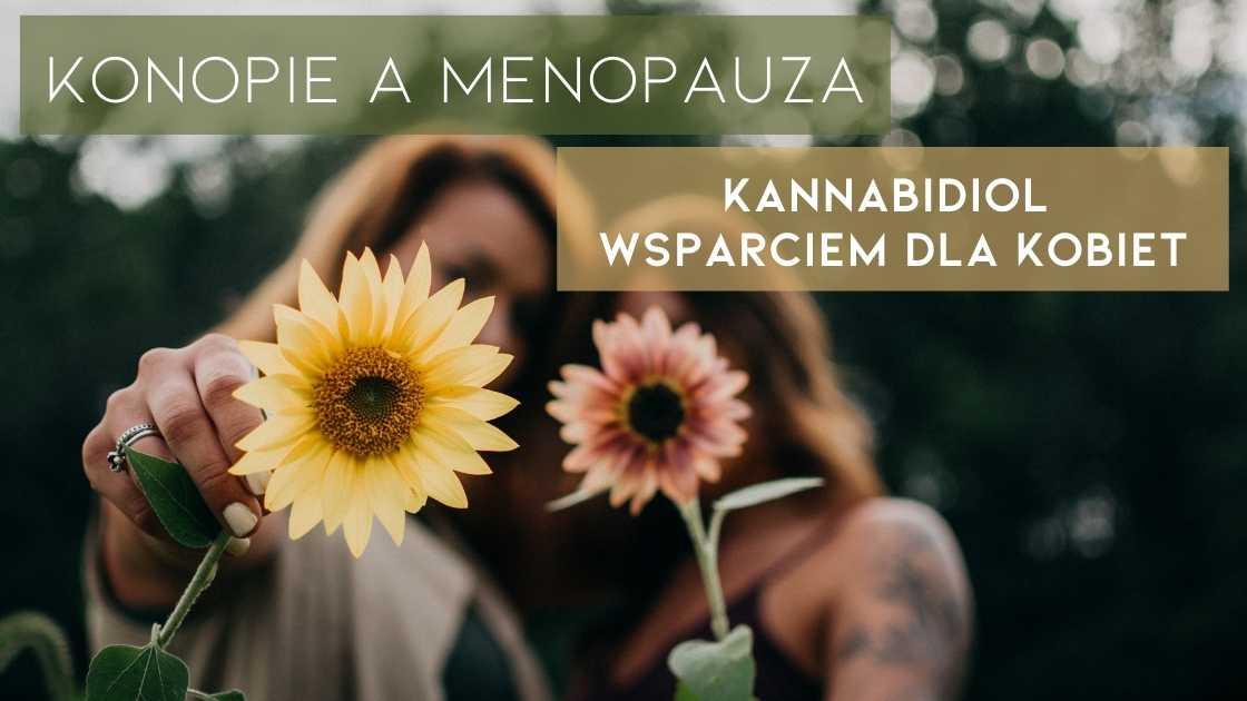 Konopie a menopauza