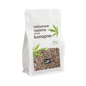 nasiona konopi 500g