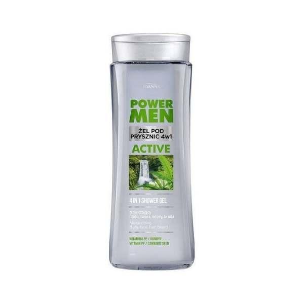 konopny żel pod prysznic dla mężczyzn