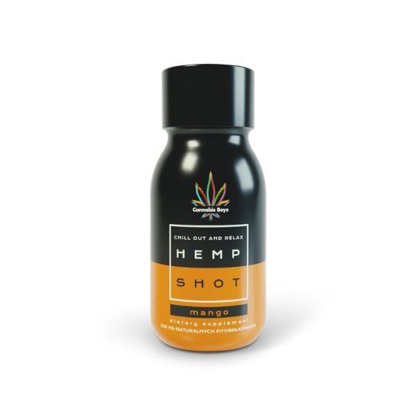 hemp shot mango cbd