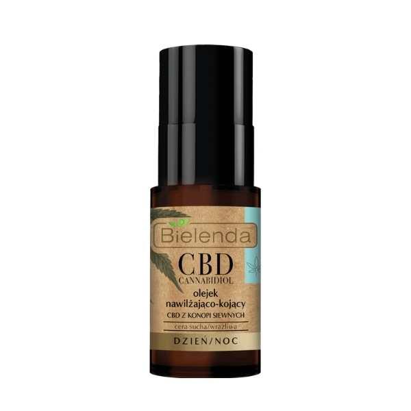 wegański olejek do twarzy z CBD