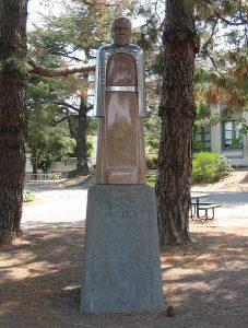 Pomnik Louisa Pasteura w San Rafael w Kalifornii