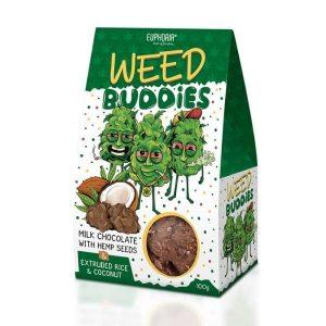 Czekoladki mleczne Weed Buddies