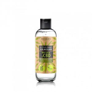 Płyn do oczyszczania i nawilżania skóry- płyn micelarny z olejkiem z nasion konopi siewnej cbd ; płyn oczyszcza skórę z nadmiaru sebum, makijażu i zanieczyszczeń; do codziennego stosowania